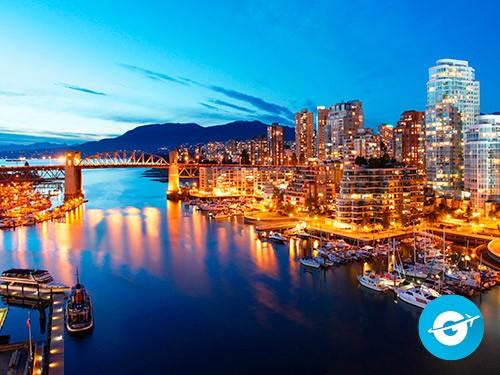 Vuelo a Vancouver en oferta. Pasaje Aéreo barato a Canada.