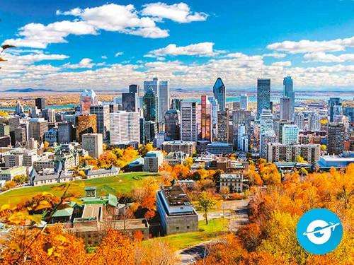 Vuelo a Montreal en oferta. Pasaje Aéreo barato a Canada.