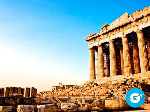 Vuelo a Atenas en oferta. Pasaje Aéreo barato a Grecia. Europa