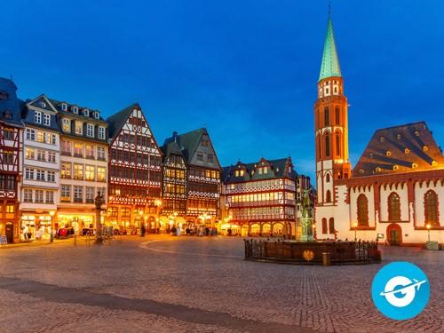 Vuelo a Frankfurt en oferta. Pasaje Aéreo barato a Alemania. Europa
