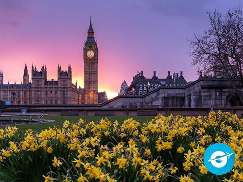 Vuelo a Londres en oferta. Pasaje Aéreo barato a Europa