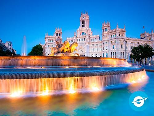 Vuelo a Madrid en oferta. Pasaje Aéreo barato a Madrid, España. Europa