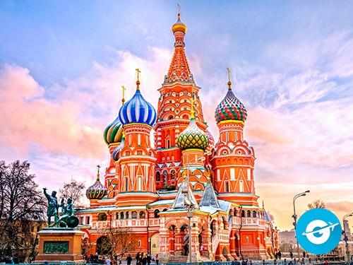 Vuelo a Moscú en oferta. Pasaje Aéreo barato a Moscú. Rusia.