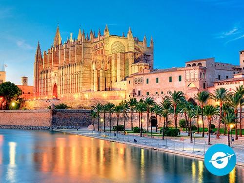 Vuelo a Palma de Mallorca en oferta. Pasaje Aéreo barato a España.