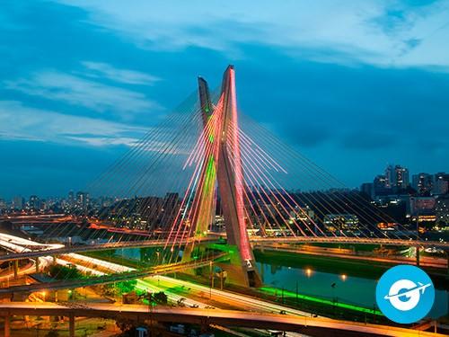 Vuelo a San Pablo en oferta. Pasaje Aéreo barato a San Pablo. Brasil