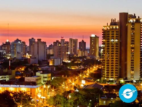 Vuelo a Asunción en oferta. Pasaje Aéreo barato a Paraguay