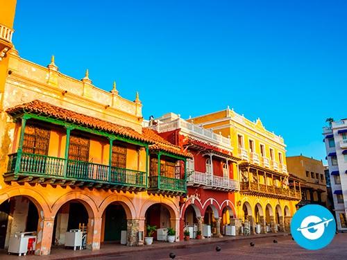 Vuelo a Cartagena de Indias en oferta. Pasaje Aéreo barato a Colombia