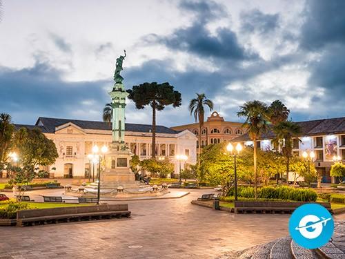 Vuelo a Quito en oferta. Pasaje Aéreo barato a Quito. Ecuador