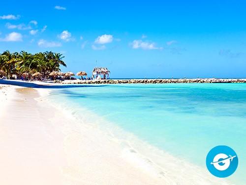 Vuelo a Aruba en oferta. Pasaje Aéreo barato a Aruba. Caribe