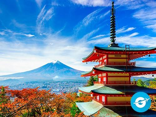 Vuelo a Tokio en oferta. Pasaje Aéreo barato a Tokio, Japón. Asia