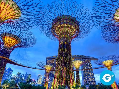 Vuelo a Singapure en oferta. Pasaje Aéreo barato a Asia.