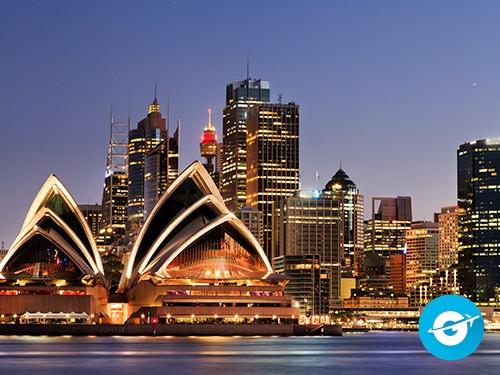 Vuelo a Sídney en oferta. Pasaje Aéreo barato a Australia.