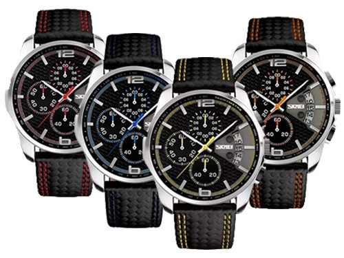 Skmei Reloj Digital Elegante Sumergible Inteligente Hombre