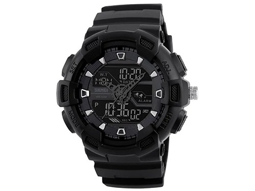 Reloj Skmei Hombre Cronometro Luz Sumergible Deportivo 1189