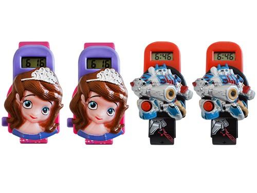 Combo Reloj Infantil Skmei Set X4un De Hebilla Hora Digital