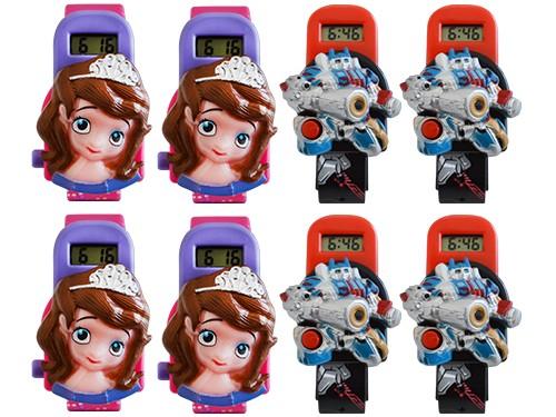 Combo Reloj Infantil Skmei Set X8un De Hebilla Hora Digital