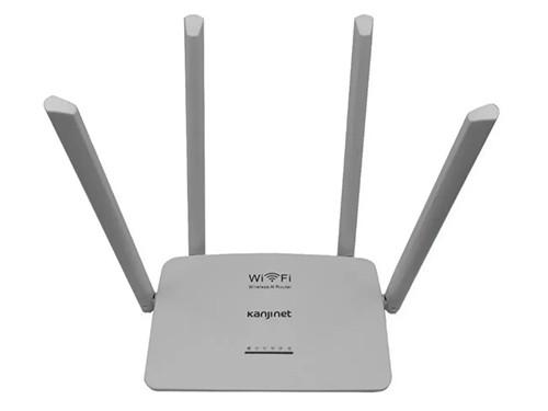 Router Kanji KJN-ROUT4A01 4 Antenas