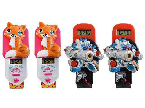 Skmei Set Reloj Infantil X4un Hora Digital Hebilla Pulsera!