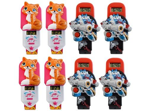 Combo X8un Skmei Reloj Infantil Hora Digital Set De Hebilla