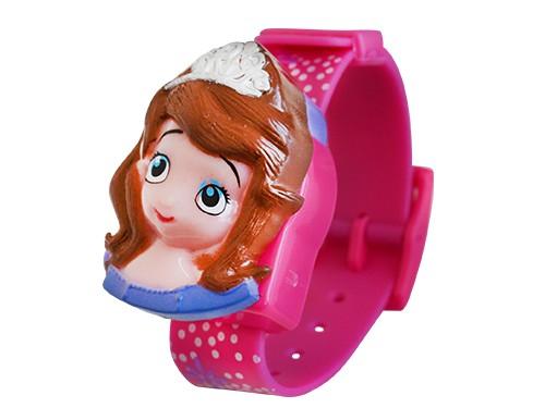 Reloj Infantil Skmei Princesa Digital C/hebilla Pvc Caja