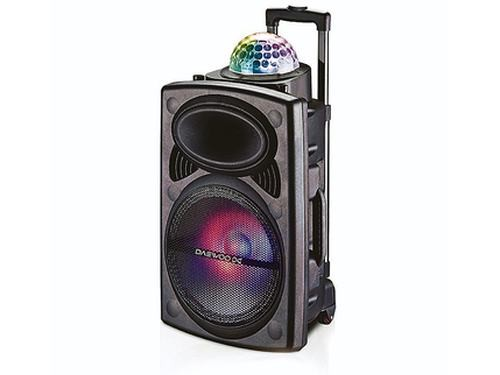 "Parlante Disco Daewoo 15"" DW-1005 2600 Watts Bluetooth"