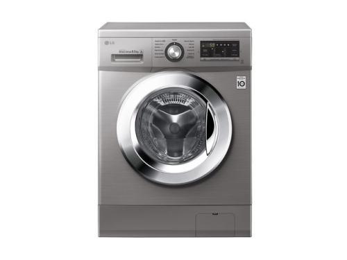 Lavarropas LG 8.5 Kgs Inverter 1400 Rpm Silver