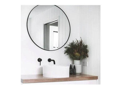 Espejo Redondo Circular 60 Cm Baño Living Diseño Comedor