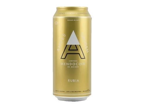 Cerveza Andes Origen Rubia 473cc