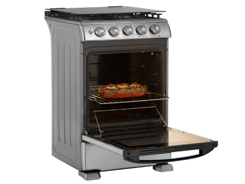 Cocina a gas 55 cm Inoxidable GE Appliances
