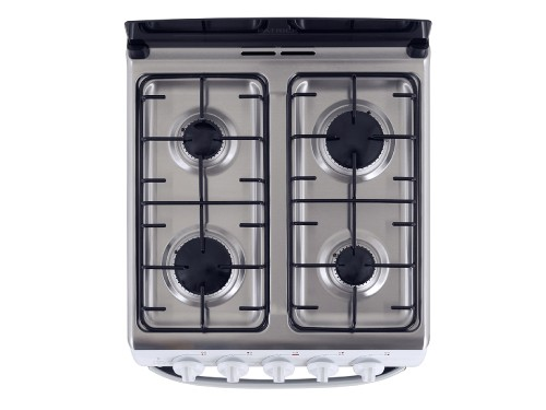 Cocina a gas 55 cm Blanca Patrick