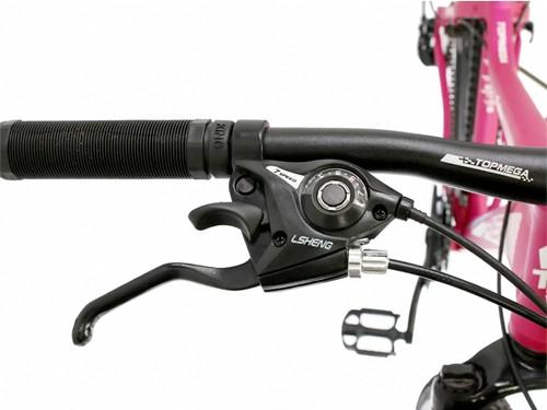 Bicicleta MTB Flamingo R29 Aluminio Talle S 21V Topmega