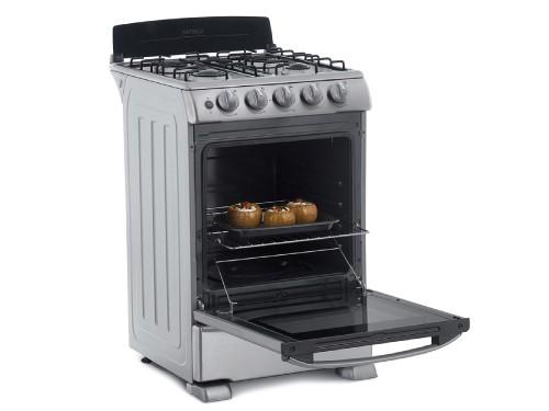 Cocina a gas 55 cm Acero Inoxidable Patrick