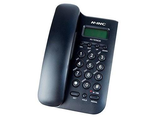 Telefono de mesa N-INC con identificador de llamadas