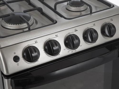 Cocina a gas 56 cm Acero Inoxidable Patrick