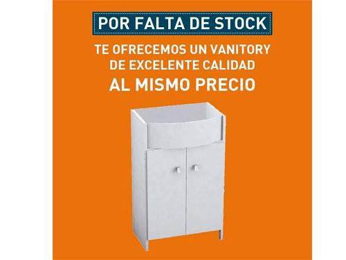 Combo Baño Completo Vanitory Inodoro Bidet Griferia Bañera