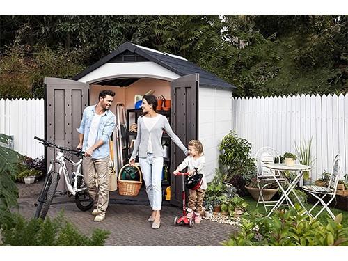 Depósito De Jardin Keter Montfort 759 - 228x287x252 Cm