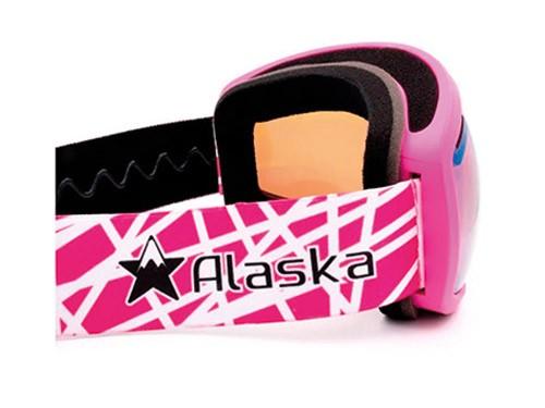 Antiparras Ski Snowboard Doble Lente Anti Fog Rosa Alaska Storm