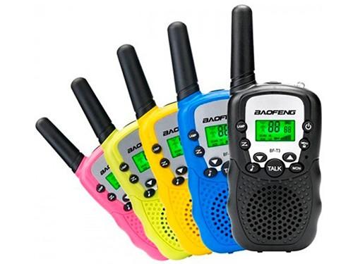 Walkie Talkie UHF Handy X2 Baofeng Bf-t3 Radio 22 Canal 5km