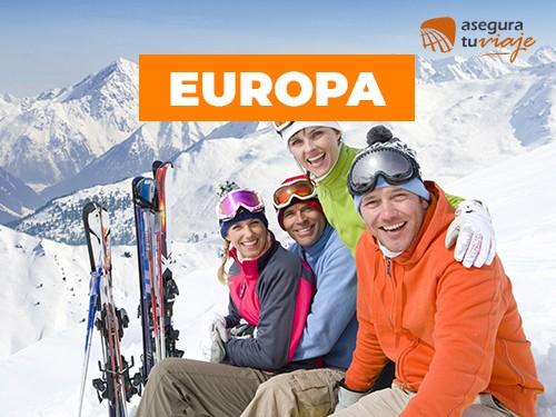 Asistencia al viajero Europa - 15 días para 2 personas