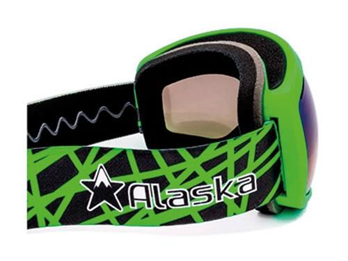 Antiparras Ski Snowboard Doble Lente Anti Fog Verde Alaska Storm