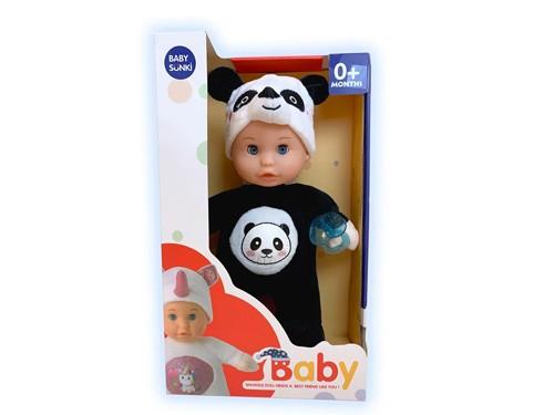 Muñeca Bebote Sweety Baby Panda Con Luz Y Melodías