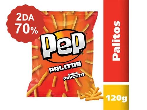 2do al 70% Palitos Pep 120 Gr.