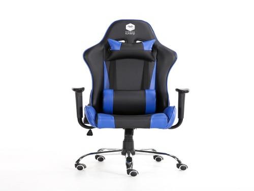 Silla Gamer Dooku Cuero Black & Blue