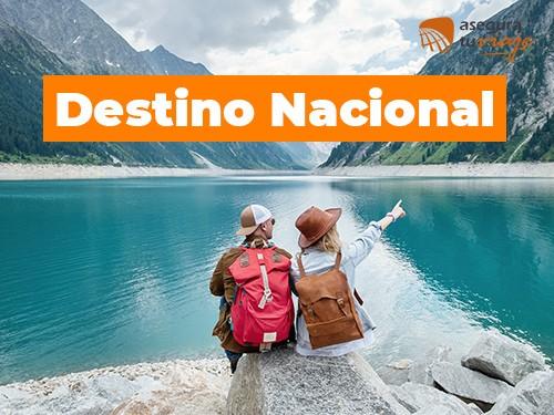 Asistencia de viaje/ Destino Nacional - 5 días para 2 personas