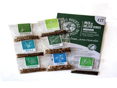 «Huerta de otoño»: 14 semillas  + 2 bandejas de germinación -30%