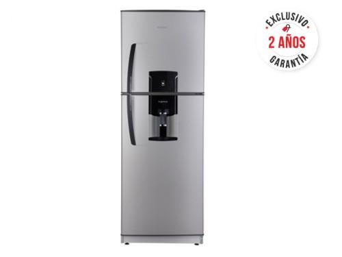 Heladera con freezer cíclica 394 L Silver Patrick