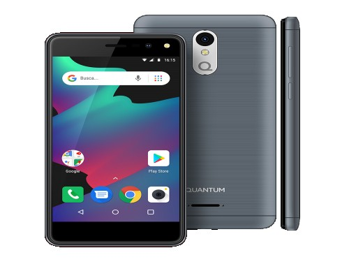 "Celular FIVE 5"" Negro 32GB 5MP Android Oreo Go Quantum"