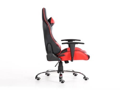 Silla Gamer Dooku Cuero Black & Red