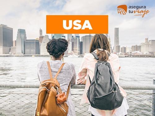 Asistencia de viaje/ Estados Unidos - 30 días para 2 personas