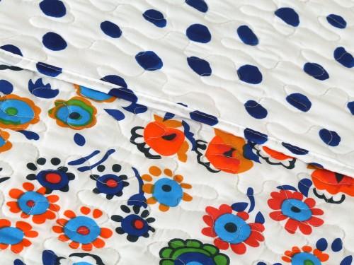 Cubrecama Quilt Cover con Funda Reversible - Twin Almería Diseño 4